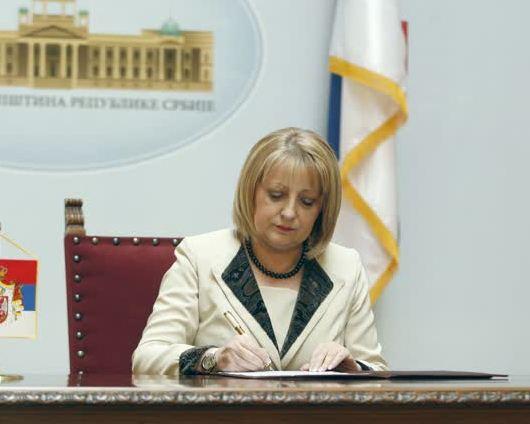 Predsednica Narodne skupštine raspisala predsedničke izbore