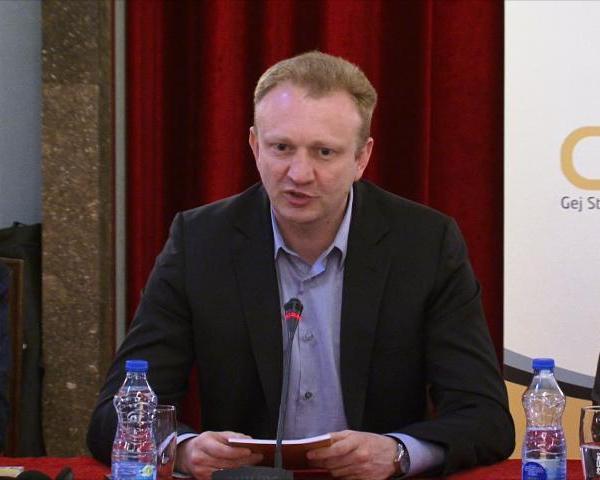 """Dragan Đilas na prezentaciji godišnjeg izveštaja """"Sloboda se ne dobija, sloboda se osvaja"""""""