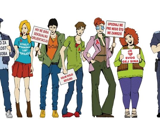 """""""Zajedno za jednakost LGBT osoba"""" u Novom Sadu"""