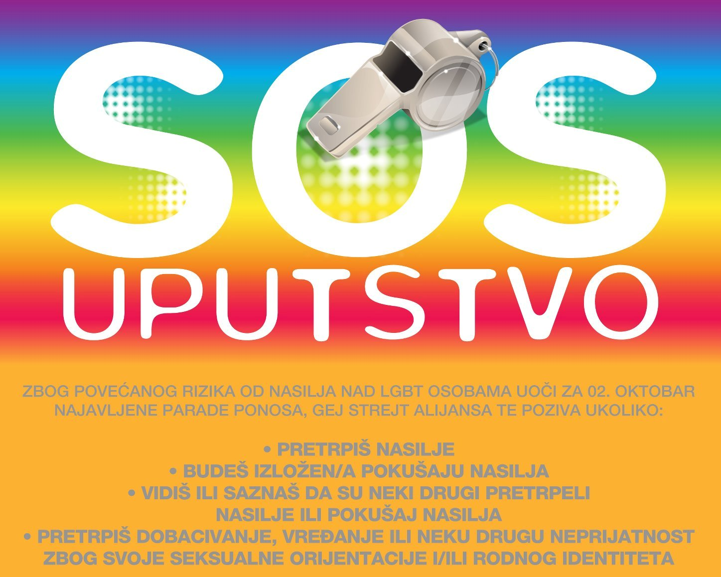 Dežurni SOS telefon u GSA