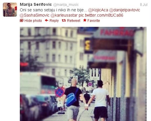 Marija Šerifović podržala LGBT prava