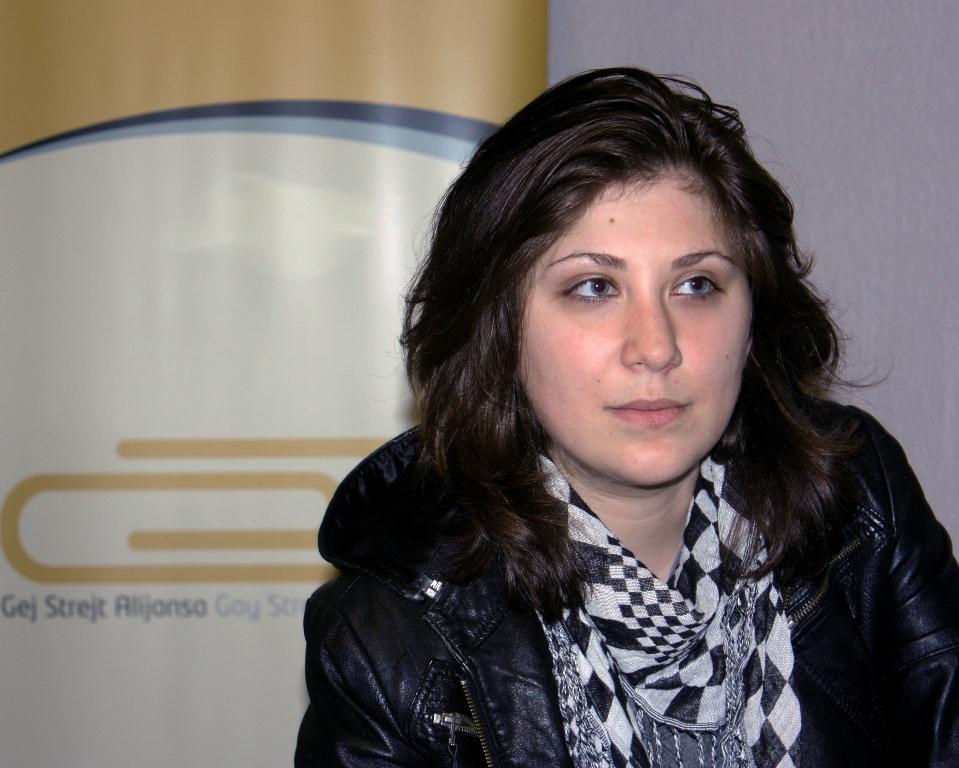 Mi smo GSA! Angelina Žeželj: Nasilnici se hrane strahom