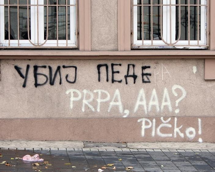 Ekstremisti u Beogradu dobili tipično beogradski odgovor