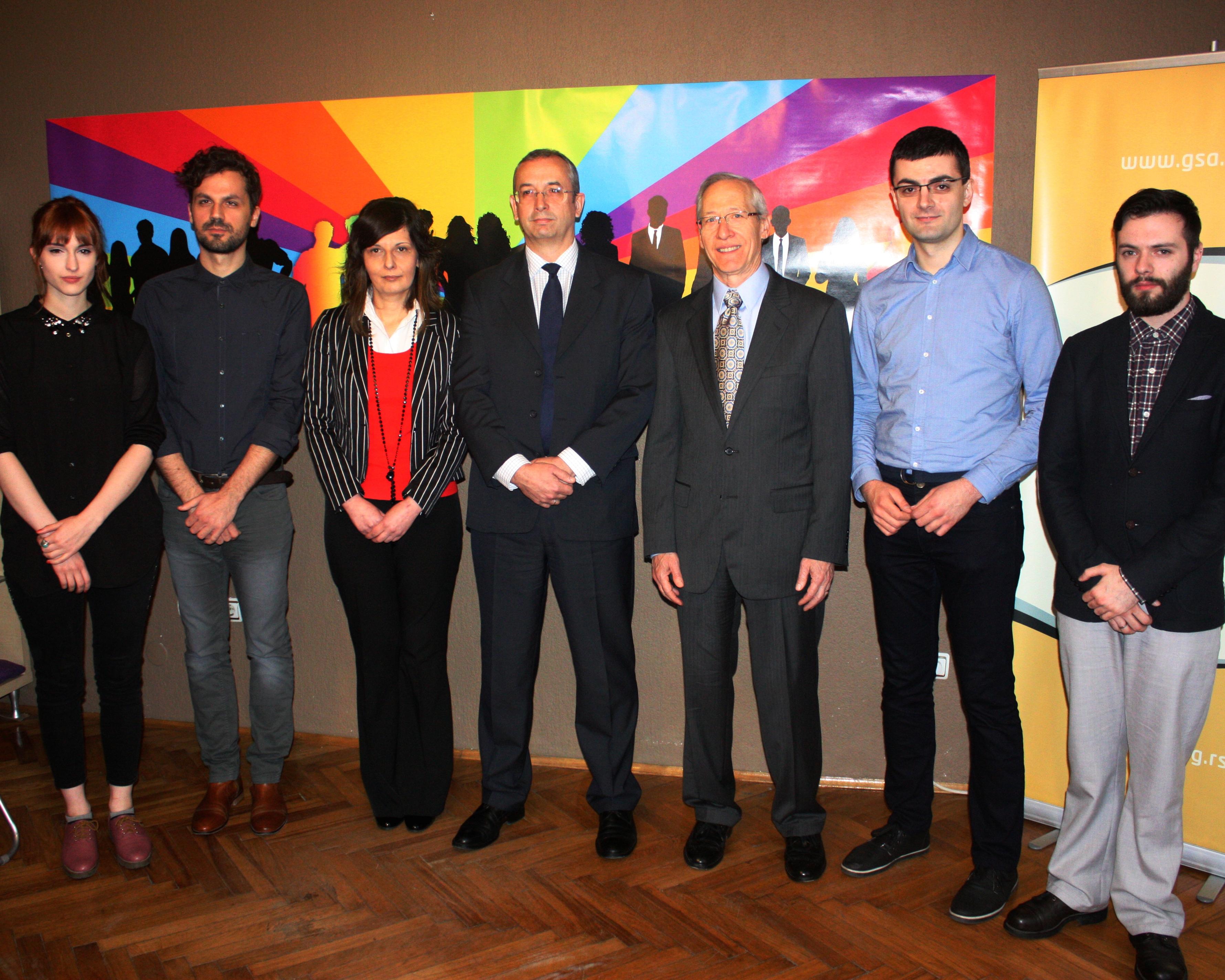 Ambasadori SAD i EU posetili GSA i razgovarali sa aktivistima