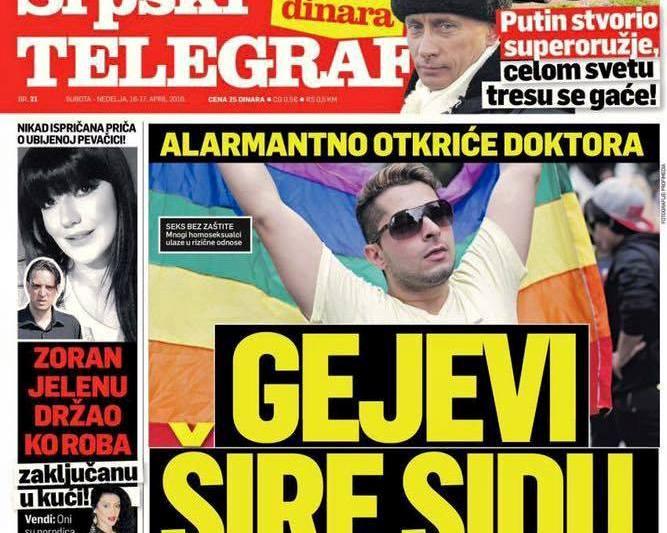 Govor mržnje na srpskim trafikama