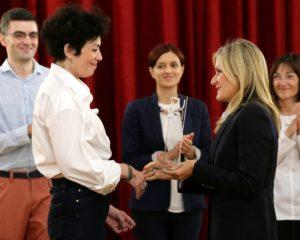 """Ireni Mišović uručena nagrada """"Duga"""" za 2017/18. godinu (FOTO, VIDEO)"""