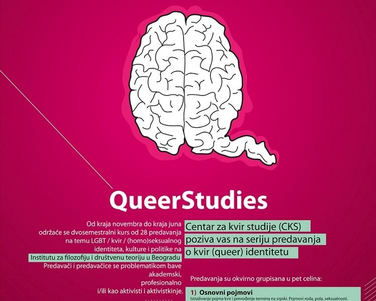 Centar za kvir studije poziva vas na seriju predavanja o kvir (queer) identitetu