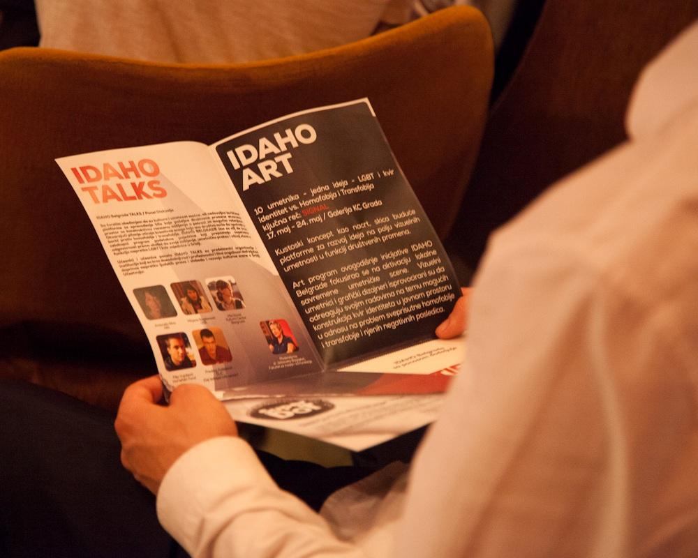 Kultura i umetnost u borbi za jednakost: IDAHO BELGRADE 2014