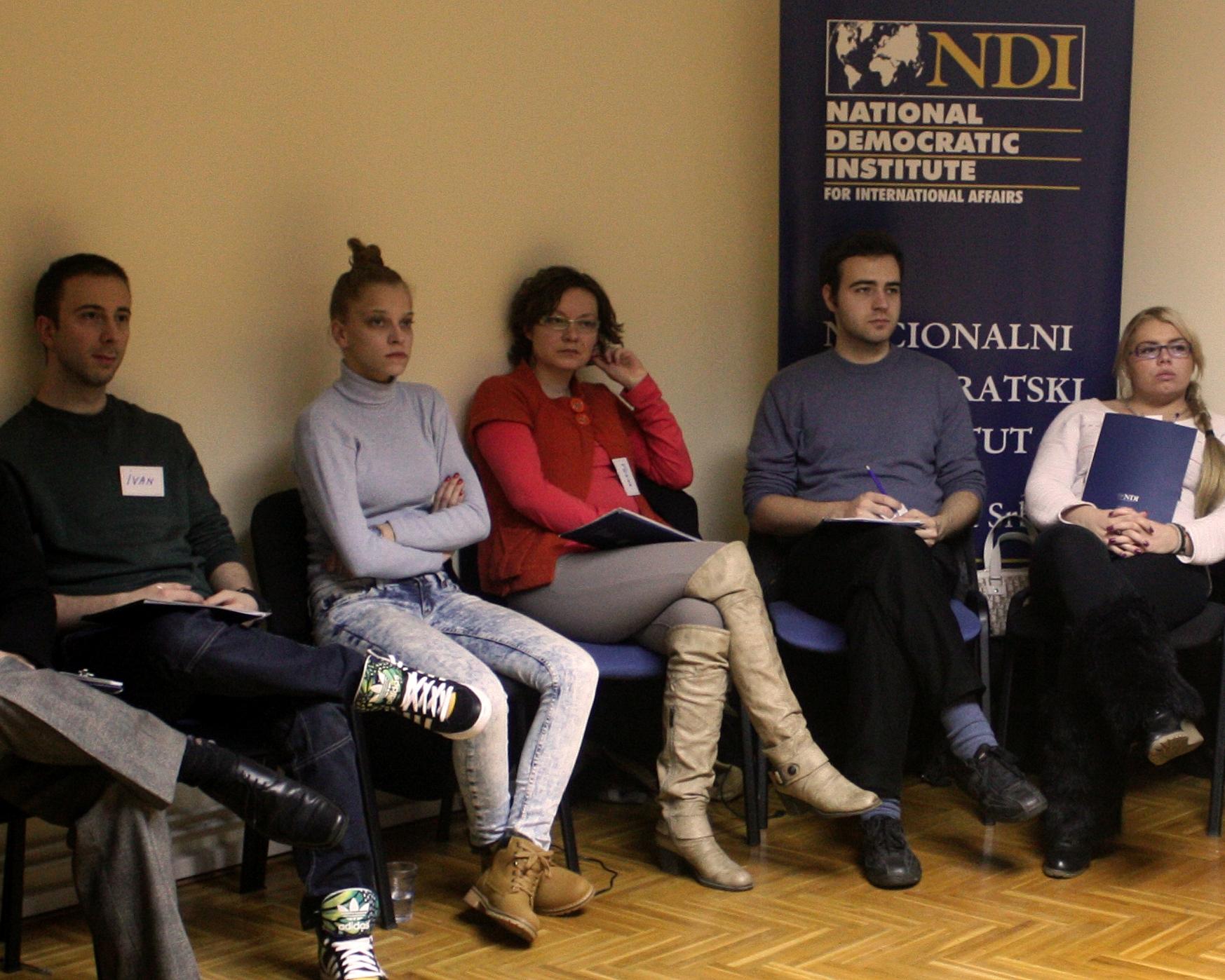 Počeli NDI treninzi za mlade aktiviste GSA