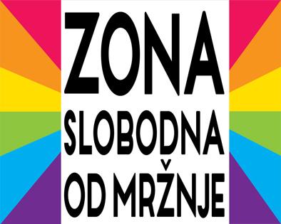 """Međunarodni dan ponosa LGBT osoba – podrška akciji """"Zona slobodna od mržnje"""""""